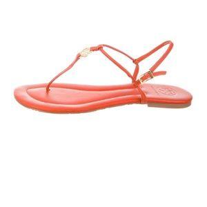 Tory Burch Orange 🍊 Sandals size 10